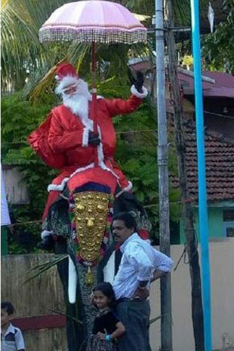 Santa in Kerala