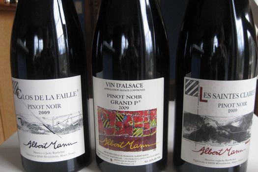 Alsatian Pinot Noir Image